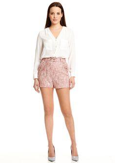 2B. RYCH Ruffle Shorts