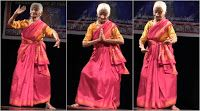 92-yr-old Bhanumathi Rao performing Bharatanatyam ...