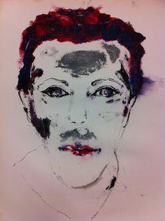 Self Portrait Monoprint