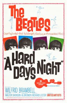 Movie Posters:Rock and Roll, A Hard Day's Night (United Artists, 1964) #HAYEAROFTHEBEATLES