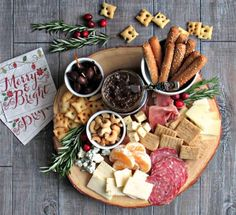 Cheese and Charcuterie Board   Entertaining Tips from A Gouda Life-See how easy it is to assemble the perfect Cheese and Charcuterie Board and check out my tips for stress-free entertaining a crowd.