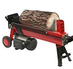 ALEKO 4-Ton Electric Log Splitter Wood Splitter Logsplitter Manual Log Splitter, Electric Logs, Tiny Wood Stove, Firewood, Coloring Books, Tools, Woodburning, Coloring Pages, Wood Fuel