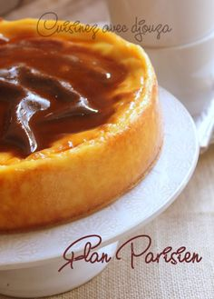 Flan pastry without dough by Christophe Michalak Gourmet Recipes, Soup Recipes, Rice Noodle Soups, Frozen Yoghurt, Dried Figs, Exotic Food, Red Fruit, Food Print, Creme