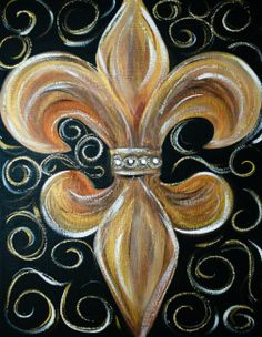You don't have to be an LSU fan to appreciate the beauty of the Fleur de lis.