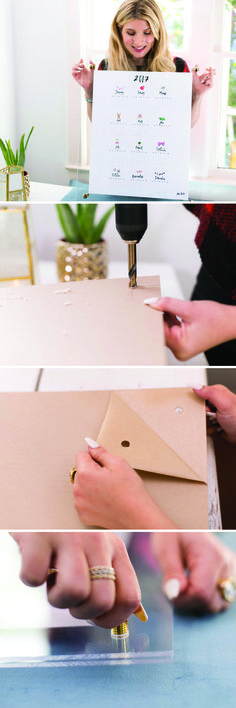 In the clear!! Frame your wall art with this minimalist acrylic DIY for a modern, gallery-esque touch! http://mrkate.com/2016/12/27/diy-acrylic-frame-whiteboard/