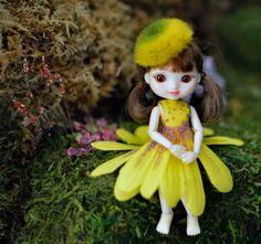 Amelia Thimble Yellow Daisy Flower Dress | Flickr - Photo Sharing!
