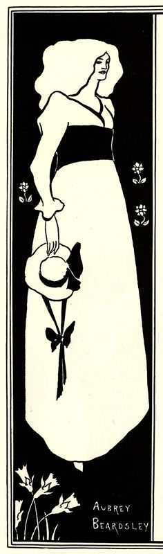 Yellow Book poster - Aubrey Beardsley