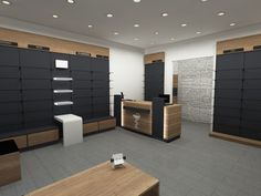 Φαρμακεία | Φόρμα Πουράνης Shoe Store Design, Retail Store Design, Showroom Design, Office Interior Design, Store Interiors, Office Interiors, Stationary Shop, Counter Design, Bakery Design