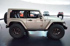 Photos: 2013 Jeep Wrangler Concept Jeeps From Easter Moab Trail Safari | ExtremeTerrain.com Jeep Blog