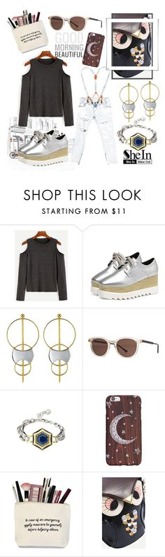 """Dark Grey T-shirt"" by love-blair-serena ❤ liked on Polyvore featuring Thierry Lasry and One Teaspoon"