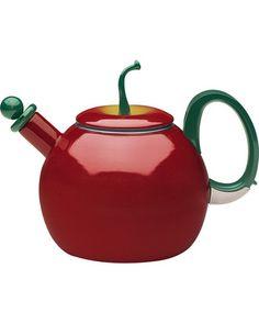 Deals & Discounts for Coffee & Tea Essentials Apple Kitchen Decor, Red Kitchen, Apple Tea, Red Apple, Teapot Cookies, Tea Riffic, Apple Decorations, Tea Tins, Tea Pot Set