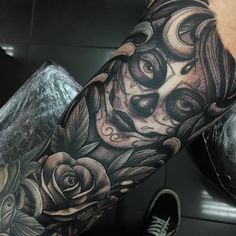 Resultado de imagem para full arm mexican tattoo