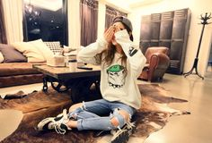 ha-roro:  sweatshirt