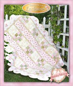 Shabby Chic quilt for girls.