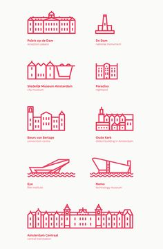 amsterdam icon designs