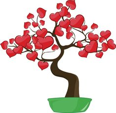Tree of love: Put your heart on it!