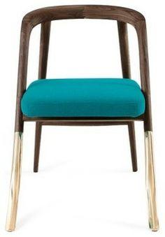 Alma Brass Chair - contemporary - chairs - ORGANIC MODERNISM