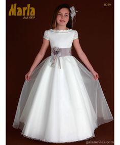 Vestido de Comunión D219