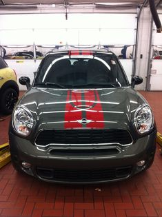 Countryman with Red Sport Stripes