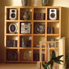 Lightwood Display Shelves Check out: missdollhouse.com