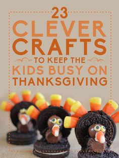 23 Clever Crafts To Keep The Kids Busy On Thanksgiving - BuzzFeed