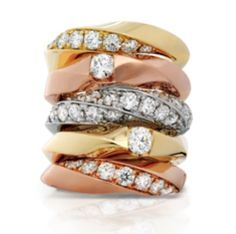 Gorgeous Hearts on Fire rings, perfect gifts this holiday season! #lucido #jewelry #heartsonfire #womens #accessories