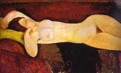 Le grand Nu (The great nude), 1917, Amedeo Modigliani Size: 73x116 cm Medium: oil on canvas