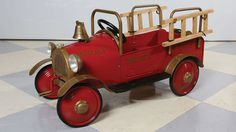 1020's Firetruck Pedal Car