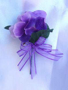 lavender and purple wedding bouquets | 10pcs Bridal Bouquet Wedding Flower Package Purple Lavender Lily Bride ...