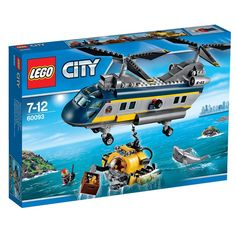 LEGO City Deep Sea Helicopter 60093 image-0