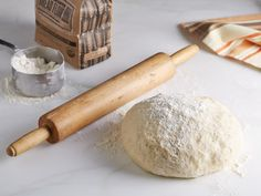 Pizza Dough Recipe : Bobby Flay. Love the way he does things. No proofing the yeast. Great recipe. Also try his quiche recipe. Perfect, no matter what you add to it.