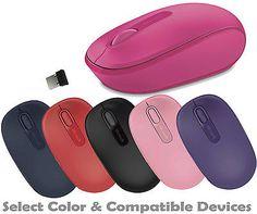 Wireless Mobile Optcal Mouse for Windows 10/8/7/Vista Notebook Laptop Desktop