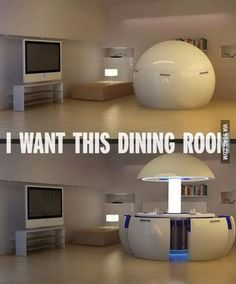 I WANT THIS DINING ROOM