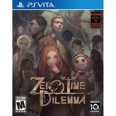 Zero Escape: Zero Time Dilemma [Sony PS Vita]
