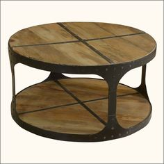 Berwyn Round Coffee Table Metal And Wood Threshold Clear Target - 2 tier round coffee table