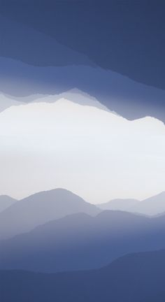 """""""Landscape at the Center of the Earth"""" (Owen Schaefer) An actual misty mountain landscape """"folded"""" over itself."""