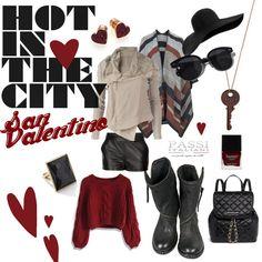 L'outfit di San Valentino. Passi Italiani. Dedicato all'amore in tutte le sue forme