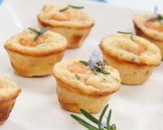 Mini muffins de la mer Dukan au micro-ondes