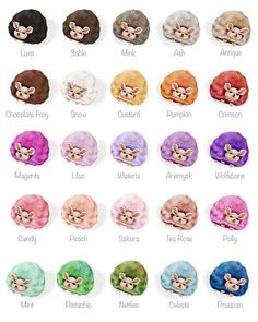 Pygmy Puffs | I'm almost certain that Ginnys was had a Tea Rose colored pelt rather that purple. Look at the picture of hers and compare to these. Hers is really close to the Tea Rose color.