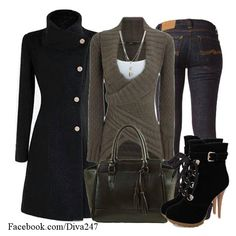 Do you think you could rock this look.♥ \/  \/ ♥