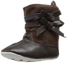 Laura Ashley LA22546 Crib Shoe (Infant/Toddler), Brown, 2 M US Infant Laura Ashley http://www.amazon.com/dp/B00SWQ39ZM/ref=cm_sw_r_pi_dp_oSB8vb0EV1YK4