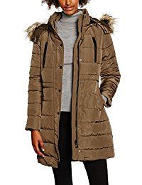 New Look Damen Jacke Lincoln Borg Padded