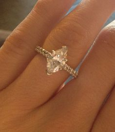 MY #marquise engagement ring!!! More beautiful than I could have ever hoped for!
