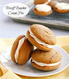 Buttercream Blondie: Flirt With Desserts » Blog Archive » Biscoff Bourbon Cream Pies