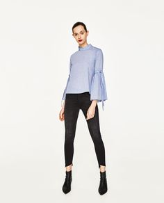 CROPPED SHIRT-View All-TOPS-WOMAN | ZARA United States