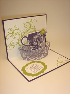 Stampin' Up! stamp set called Tea Shoppe is a winner!