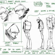 robert valley ★ || CHARACTER DESIGN REFERENCES | キャラクターデザイン • Find more artworks…