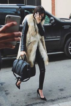 Kendall Jenner ➖ Winter outfit on point ✔️