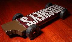 Hershey chocolate bar derby car design