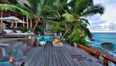 Seychelles is my bucket list destination! North Island - Seychelles Luxury Resort by Atoll Paradise House Of Turquoise, Piscina Hotel, Unique Vacations, Ville France, Romantic Honeymoon, Romantic Getaways, Romantic Travel, Beach Bungalows, Island Resort